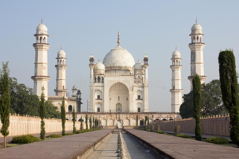 Bibi ka Maqbara in Aurangabad, India. Bibi ka Maqbara located in Aurangabad, India stock image