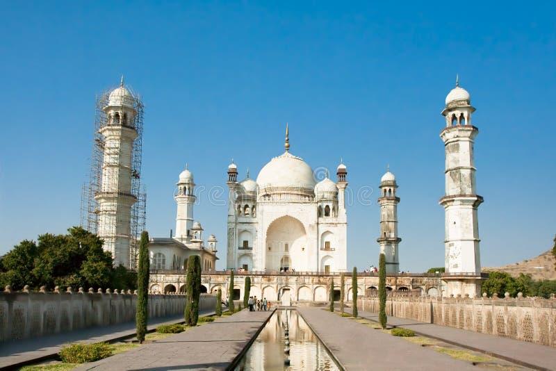 Bibi-Ka-Maqbara, uomo dei poveri Taj Mahal fotografie stock