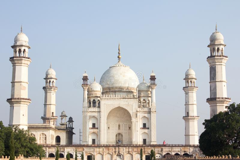 Bibi ka Maqbara w Aurangabad, India zdjęcia stock