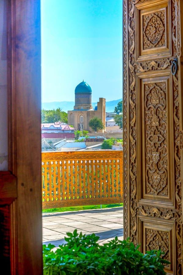 Bibi Khanum mauzoleum, Samarkand, Uzbekistan zdjęcia royalty free