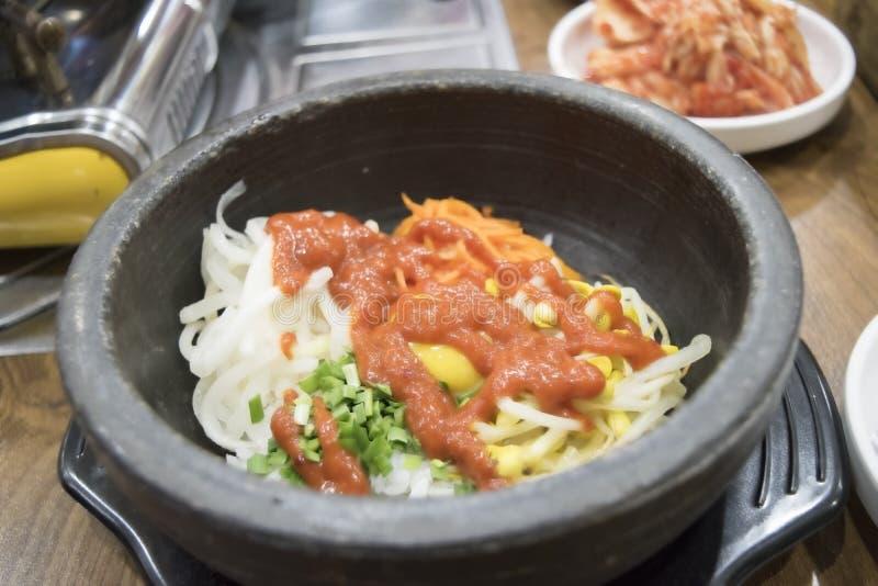 Bibimbab. Korean food, Mixed Rice Bibimbab royalty free stock photography