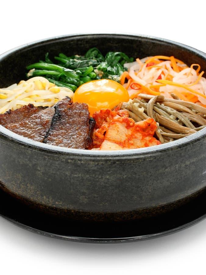Bibimbap, cuisine coréenne photographie stock libre de droits