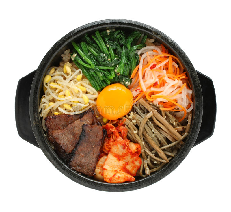 Free Bibimbap, Korean Cuisine Stock Photos - 22610583