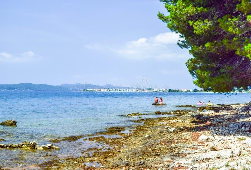 Bibinje,克罗地亚 免版税库存照片