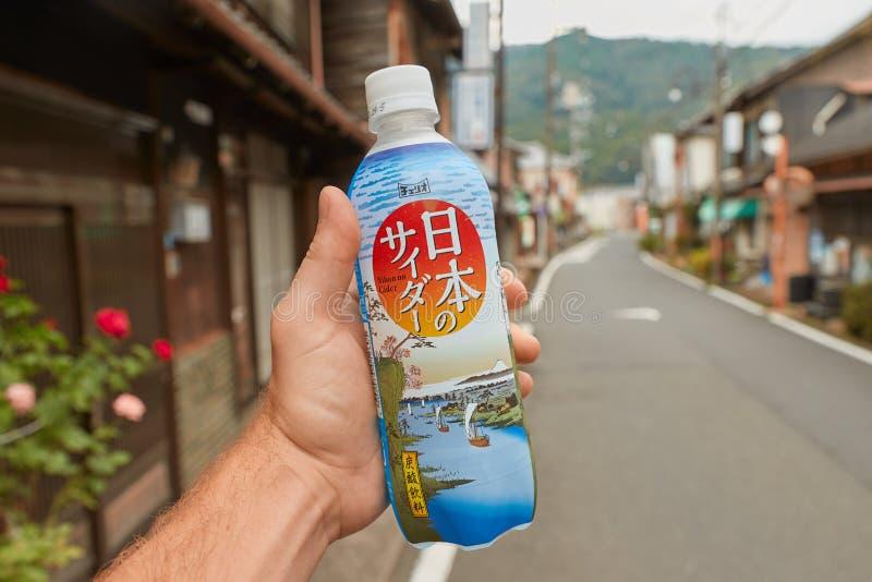 Bibita giapponese fotografia stock