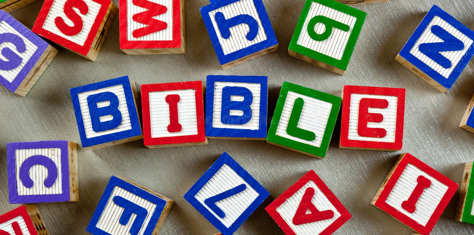 Download Bible stock photo. Image of colorful, alphabet, wooden - 23973898
