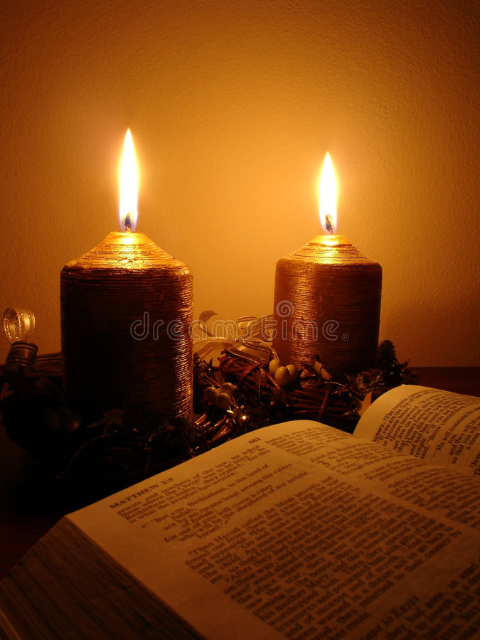 Download Bible stock photo. Image of candle, candles, believer, burn - 626354
