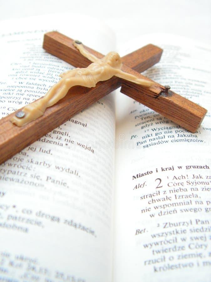 Bible&Cross royalty free stock photos