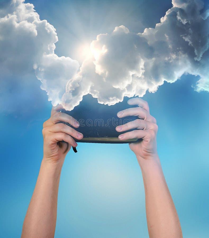 Bible des cieux photographie stock libre de droits