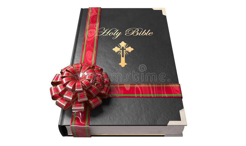 Bible Gift stock illustration