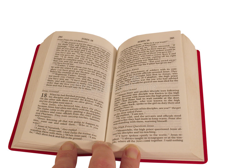 Bible Open Royalty Free Stock Image