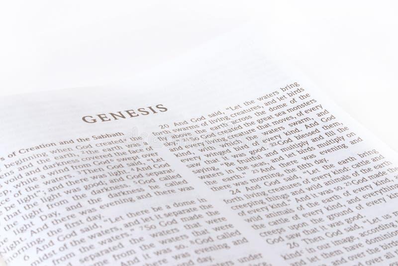 Biblia fotografía de archivo libre de regalías