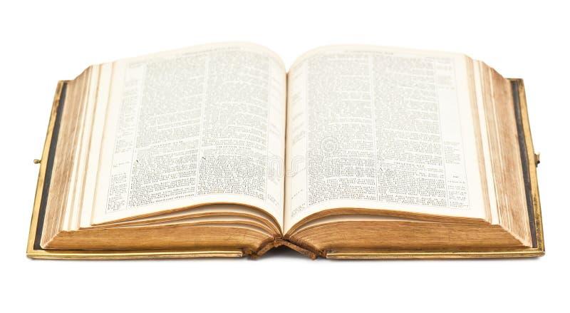 Biblia Abierta Vieja Foto De Archivo Imagen De Vieja 35780136