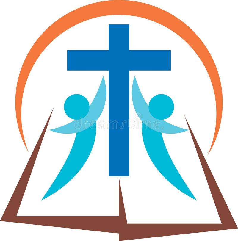 Biblia de Cristo ilustración del vector