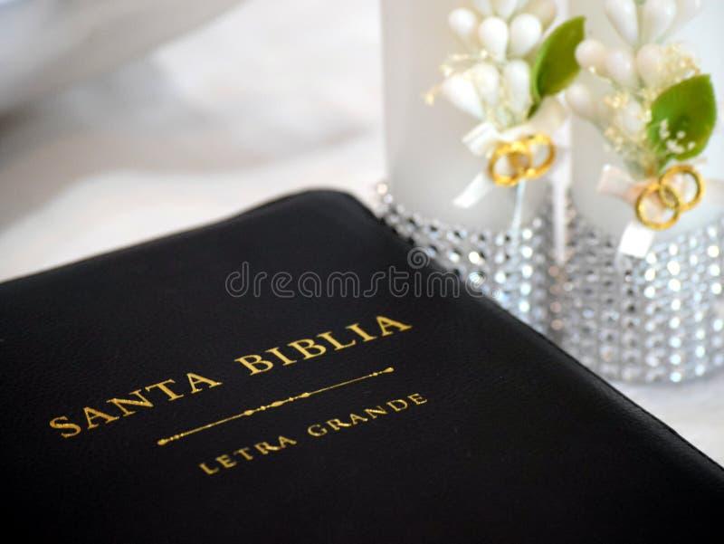 Biblia de santa del La imagenes de archivo
