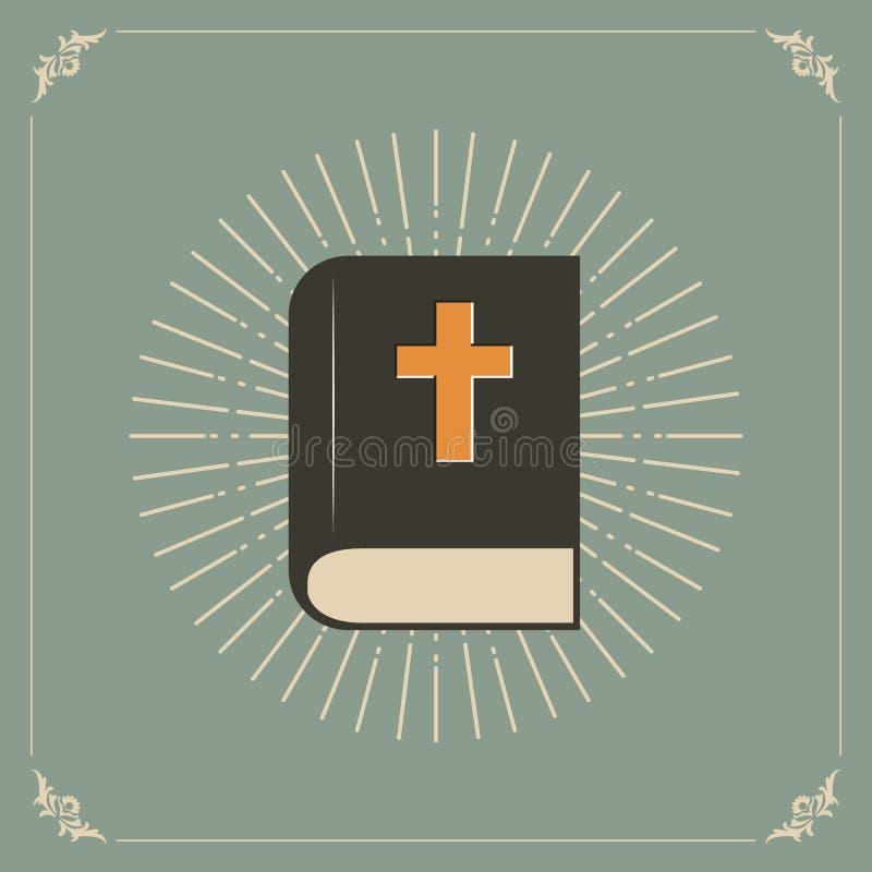 Biblia del acebo stock de ilustración
