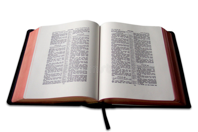 biblia otwarta zdjęcie stock