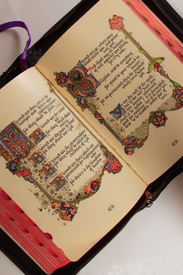 biblia otwarta zdjęcia royalty free