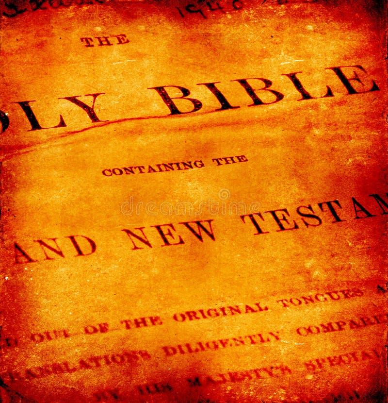 Biblia santa foto de archivo