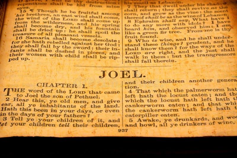 Biblia santa imágenes de archivo libres de regalías