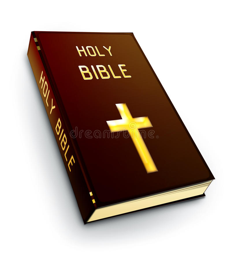 Biblia santa stock de ilustración