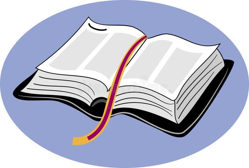 Biblia santa ilustración del vector