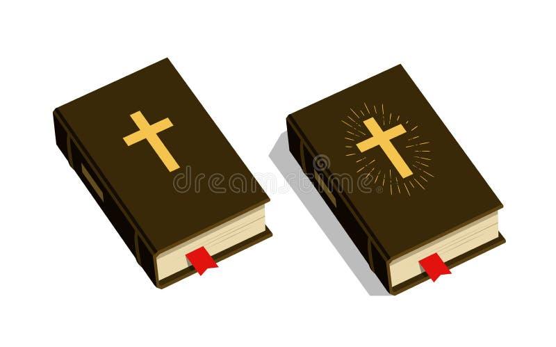 Biblia symbol Cześć, kościół, psalm ikona również zwrócić corel ilustracji wektora royalty ilustracja