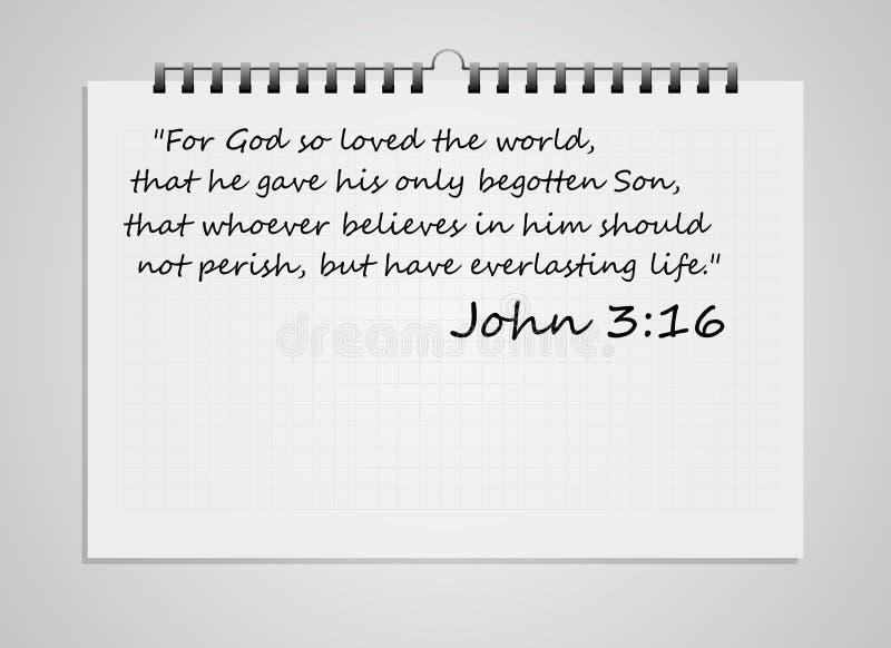 Biblia werset ilustracji