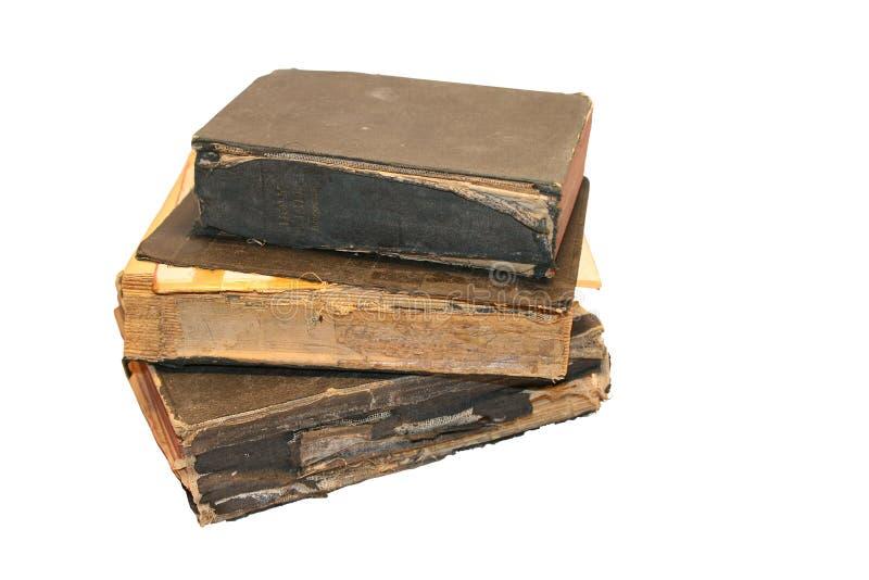 Biblias viejas foto de archivo libre de regalías