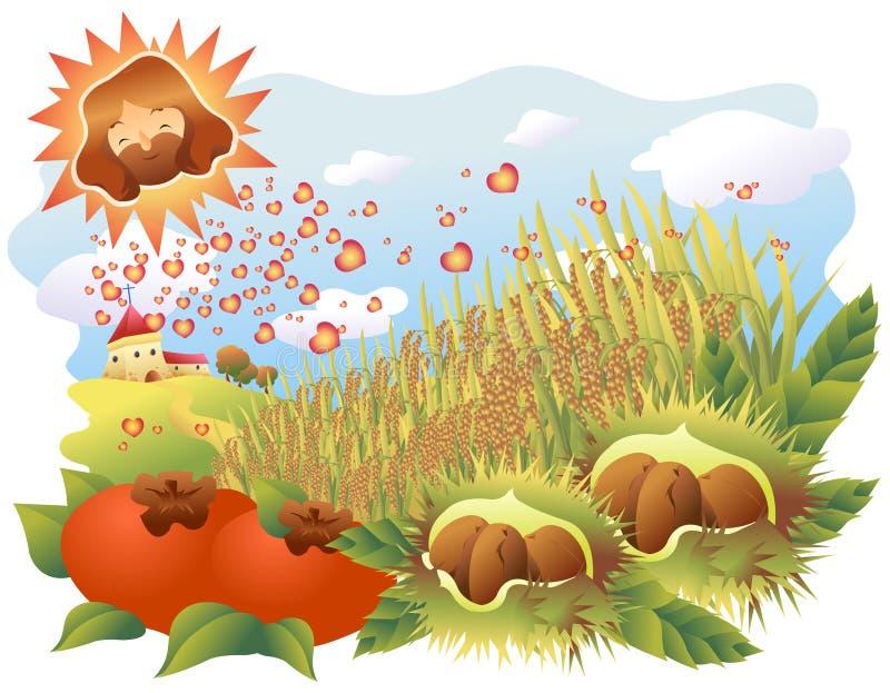 Download A biblical expression stock vector. Illustration of pumpkin - 12514887