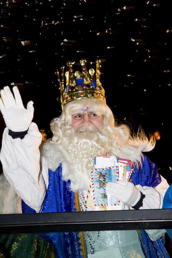 Biblical Magi Parade In Spain Editorial Photography