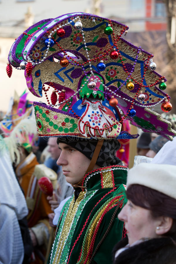 Biblical Magi Three Wise Men parade