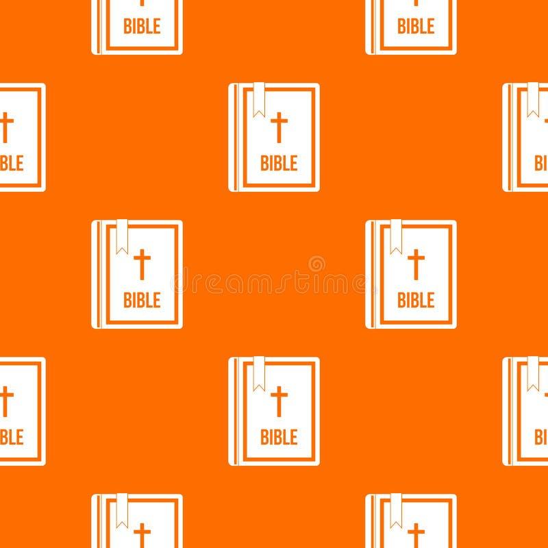 Biblii deseniowy bezszwowy ilustracji