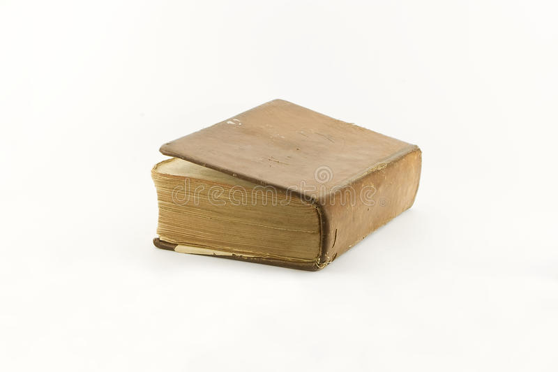 biblii kopii odosobniony rocznik być ubranym zdjęcia stock