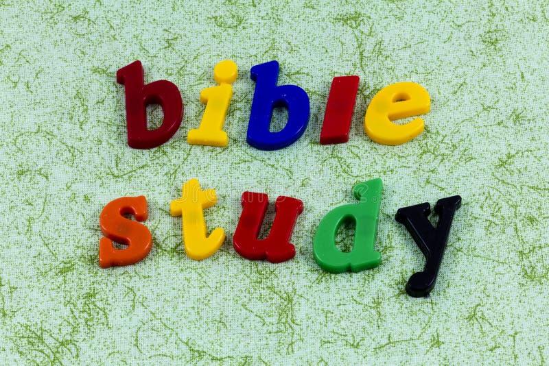 Biblii nauki religii czystości uczenie szkolna kościelna edukacja obrazy stock