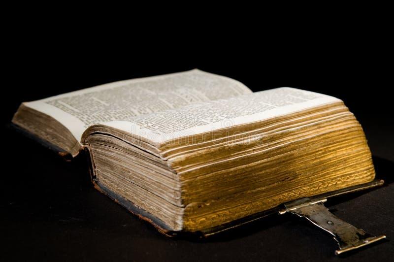 biblii stary czarny obrazy royalty free
