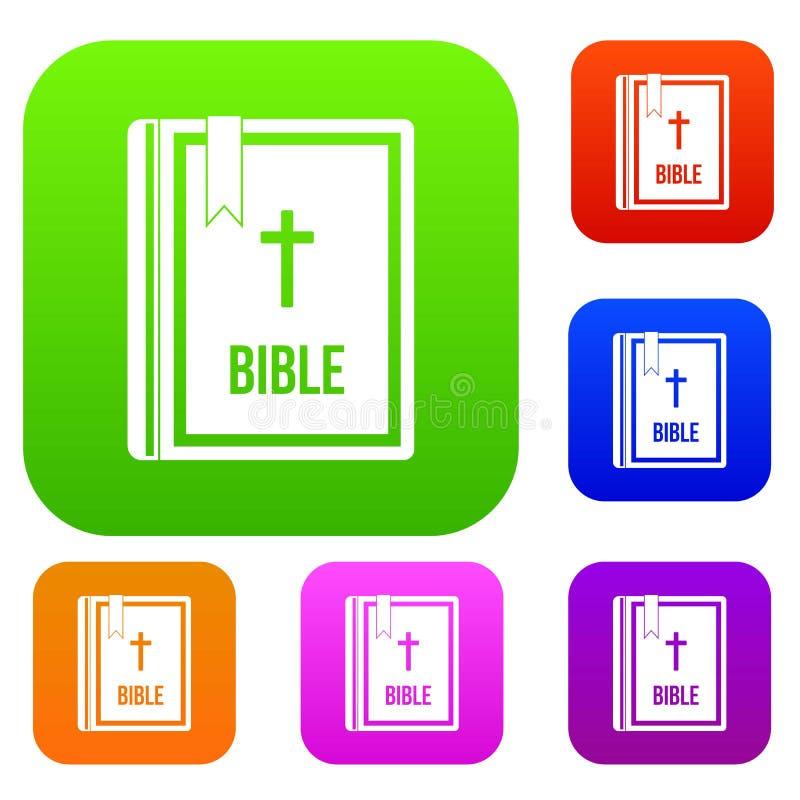 Biblii ustalona kolekcja ilustracji