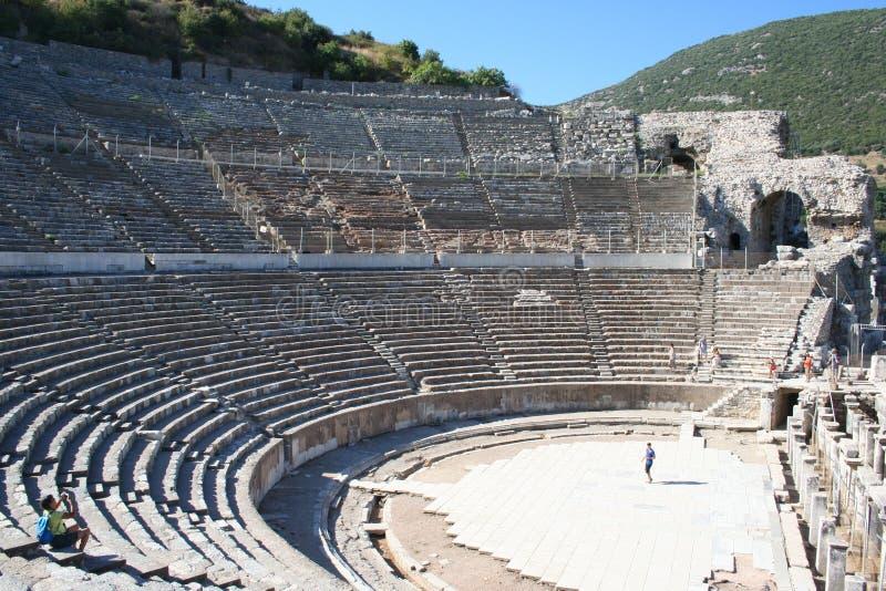 Biblijny Ephesus stadium zdjęcie royalty free