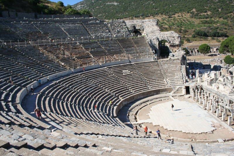 Biblijny Ephesus stadium obraz royalty free