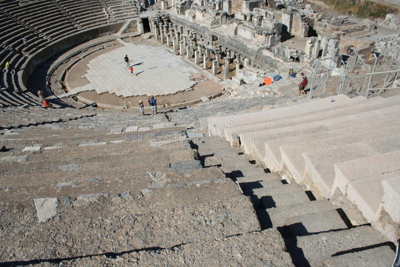 Biblijny Ephesus stadium fotografia royalty free