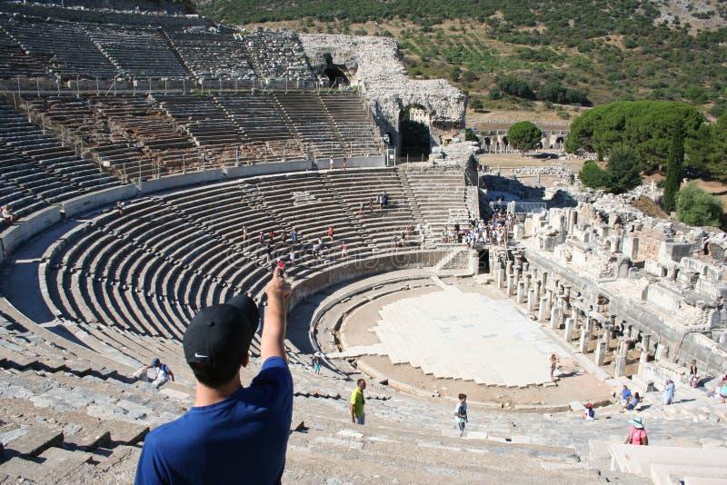 Biblijny Ephesus stadium zdjęcie stock