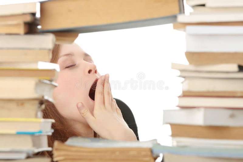 Download Biblioteca foto de stock. Imagem de isolado, concentração - 12802596