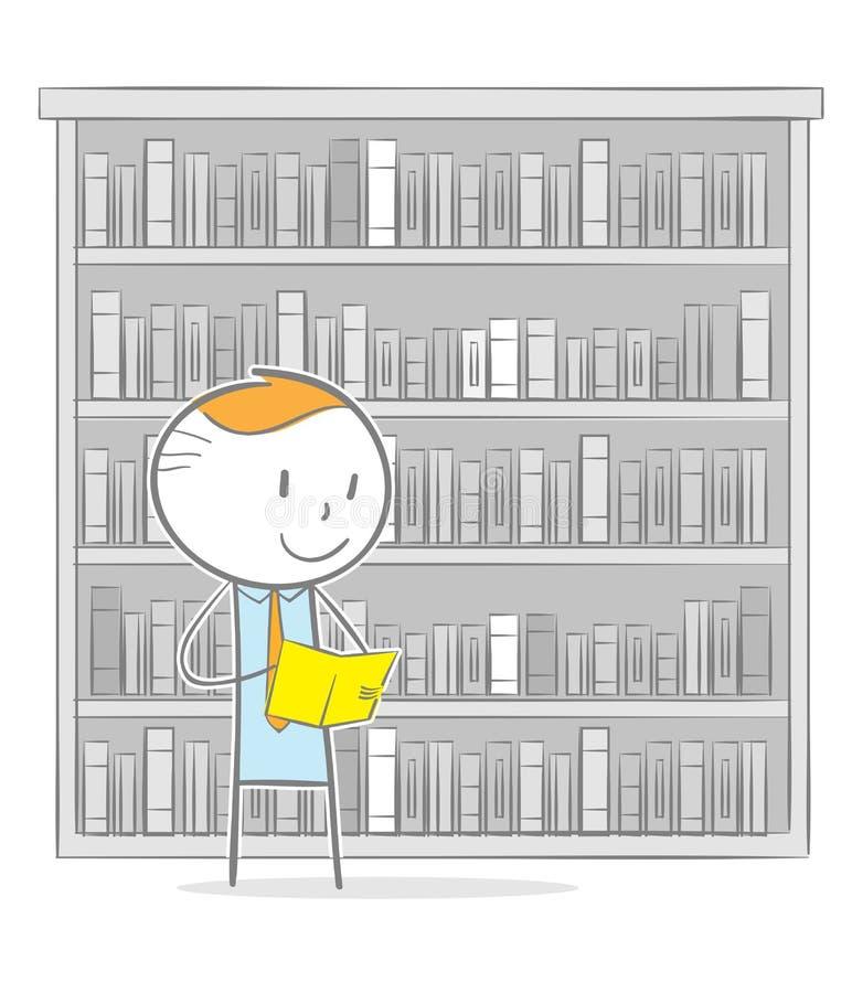 biblioteca stock de ilustración