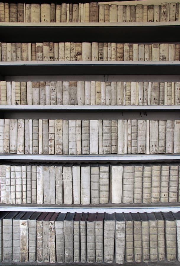 Biblioteca antigua foto de archivo