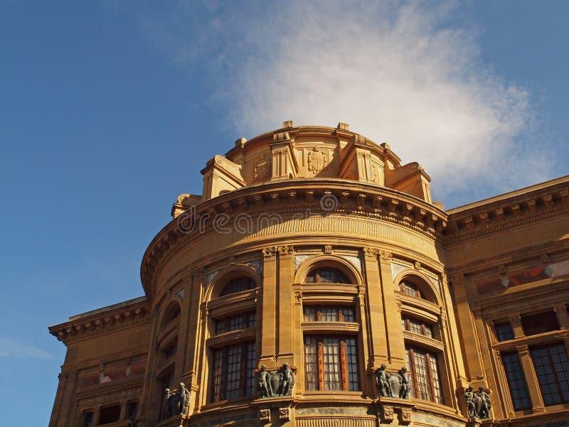 Biblioteca central nacional, Florencia foto de archivo libre de regalías