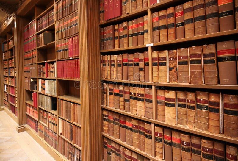 Biblioteca da escola de direito imagens de stock