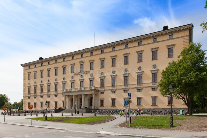 Biblioteca da universidade de Upsália fotos de stock