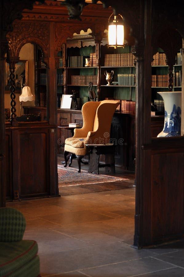 biblioteca de 19 séculos fotografia de stock royalty free