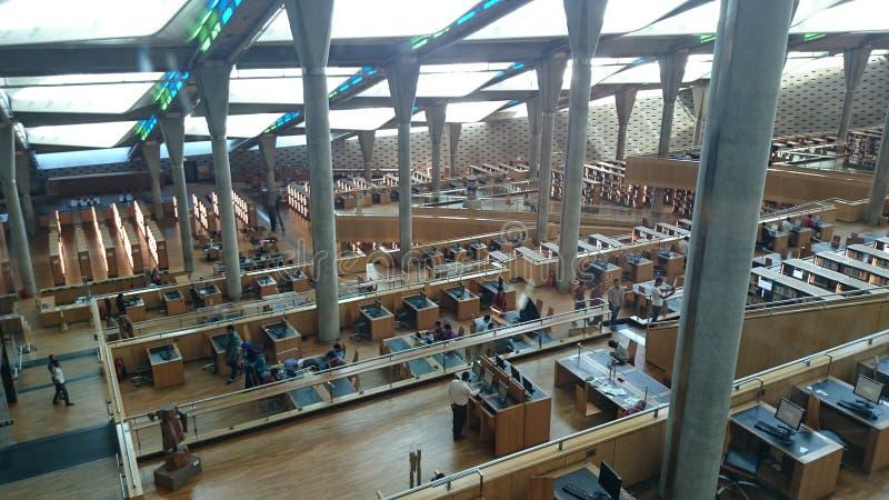 Biblioteca de Alexandría fotografía de archivo