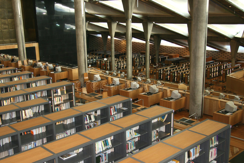 Biblioteca de Alexandria de Egipto fotografia de stock